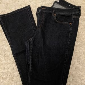 LOFT curvy boot cut jeans ❤️ Dark blue denim